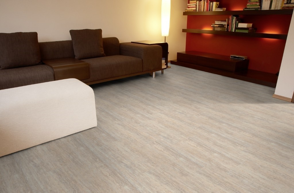 moderna klick vinylboden fliesenoptik travertin hell g nstig. Black Bedroom Furniture Sets. Home Design Ideas